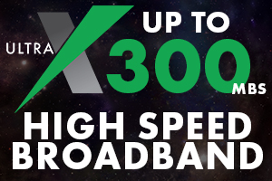 ULTRA X HIGH SPEED BROADBAND
